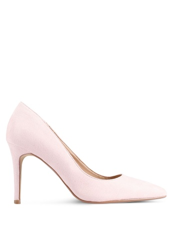 Dorothy Perkins 粉紅色 裸色 Danielle 高跟鞋 B859ASH6A2BE13GS_1