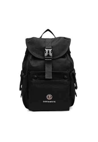 The Dude black Mad Backpack 14447ACD7A608BGS_1
