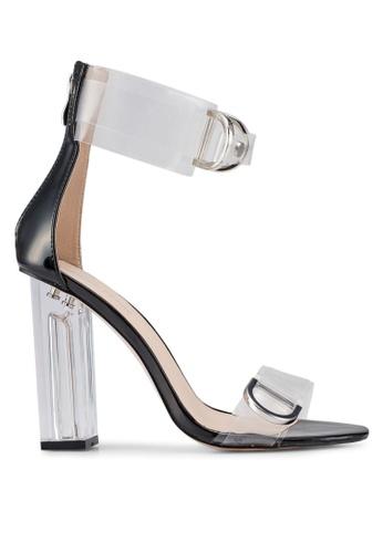 Public Desire black Tonic Heels A6472SH1846280GS_1