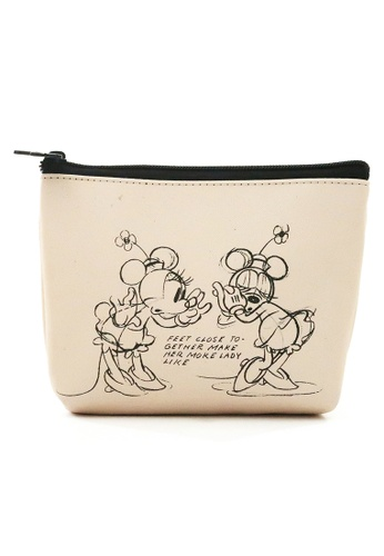 Disney Mickey beige Disney Mickey Mouse 90TH Years Vanity Case 090CAKCFD9A6B9GS_1