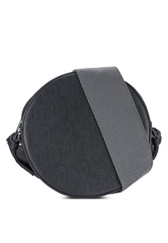 ZALORA black Mini Circle Sling Bag 2DF04AC7DAD812GS_1