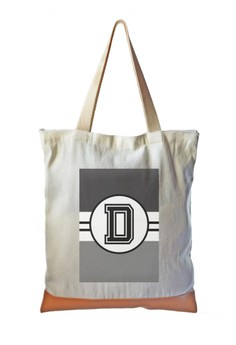 Tote Bag Monochrome Sporty Initial D