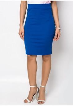 Earie Midi Pencil Skirt