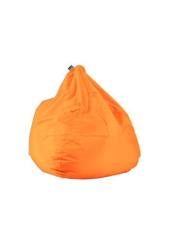 doob orange PLOP - teardrop-shaped spill-proof doob bean bag (Mandarin Orange) 9F934HL56EF683GS_1