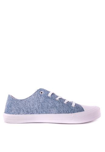 Krooberg blue Retro Jeans Mens Sneakers KR692SH0JP6MPH_1