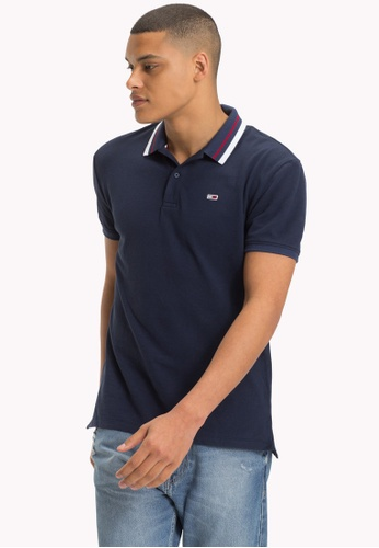 Tommy Jeans black TJM TOMMY CLASSICS POLO 5A694AA414CB1CGS_1