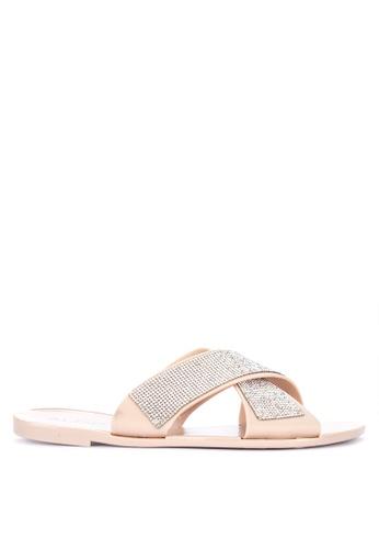 ALDO beige Shimura Sandals 8E371SH2A684A7GS_1