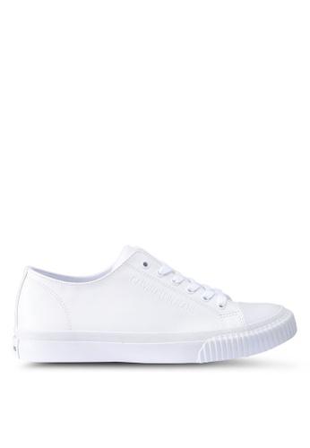 Calvin Klein white Iaco Sneakers 84B49SH306AC55GS_1