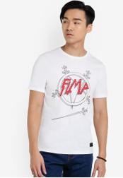 Flesh IMP 白色 Sword Slayer T-shirt FL064AA19VVSMY_1