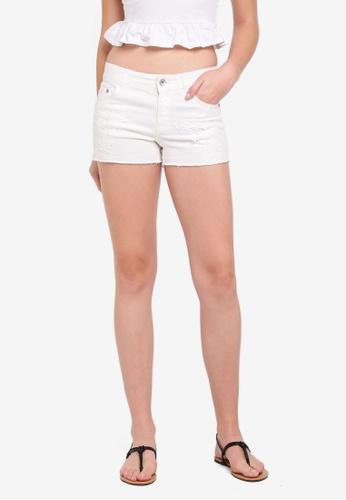 OVS white Denim Shorts 82158AABB53F8FGS_1