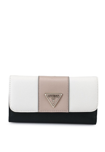 Guess multi and beige Noelle Sling Multi Clutch D38B8ACE01C0DFGS_1