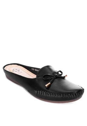 CLN black Benalla Mule Loafers 61119SHD037229GS_1