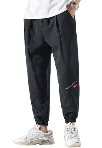 Twenty Eight Shoes black VANSA  Solid Color Casual SweatPants  VCM-P124 44394AAA741A8CGS_1