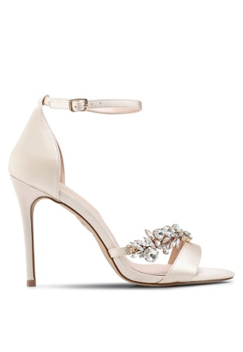 ALDO white Petruro Heeled Sandals DD4CCSHBE2CBE2GS_1