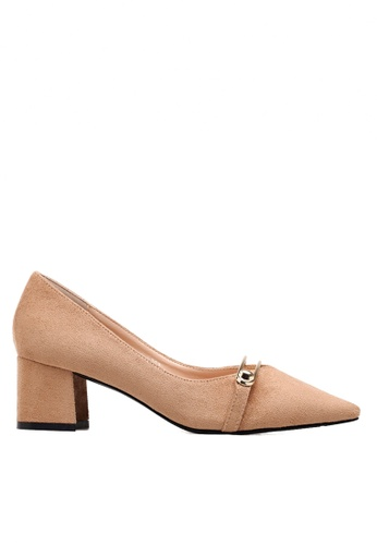 Twenty Eight Shoes Metallic Ornament Mid Heel Pumps VL5082 TW446SH2VP06HK_1