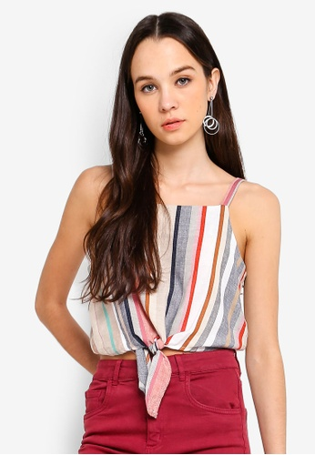 a38ab76220ce2 Buy Cotton On Reese Tie Front Cami Top Online on ZALORA Singapore