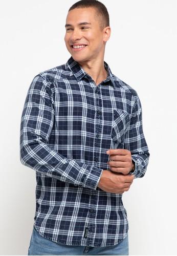 Cressida multi Indigo Checked Shirts 0E55BAAF194D57GS_1