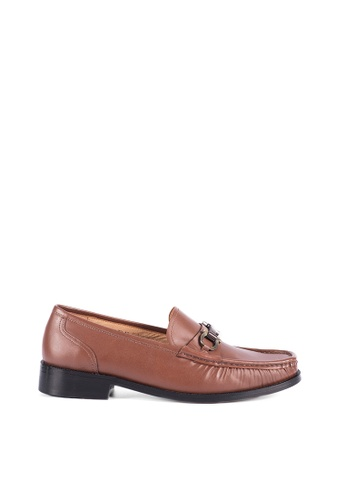 Bristol Shoes brown McKinley Loafer 89AD0SHA7F651DGS_1