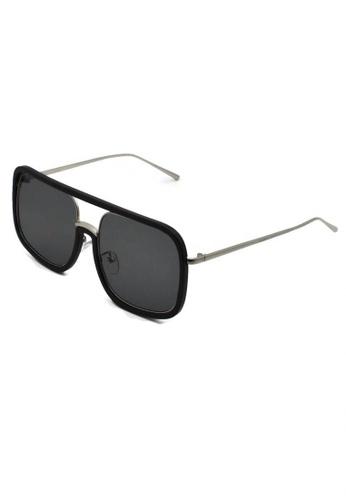 Dandelion black Oversized Aviator Sunglasses BB060GL112E929GS_1