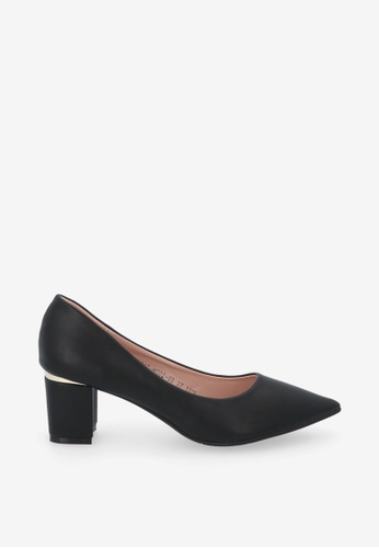 """Carlo Rino 黑色 Black 2"""" Your A-Game Pointed Toe Heels F8F51SH755F076GS_1"""