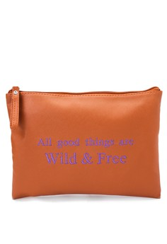 Flat Pouch With Quote