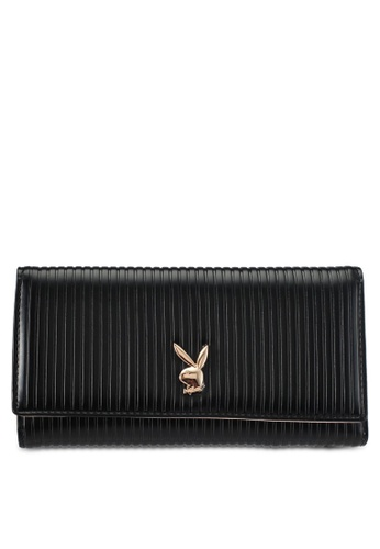PLAYBOY BUNNY black Playboy Bunny Long Purse PL604AC0SKNBMY_1