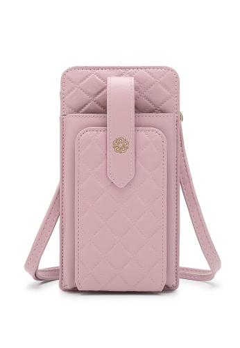 Wild Channel pink Ladies Sling Purse / Card Holder / Phone Holder 7B828AC9C787BBGS_1