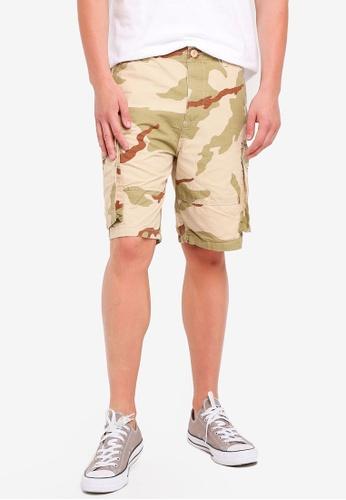 Factorie 多色 Cargo Shorts 5D9D1AAACB1DB8GS_1