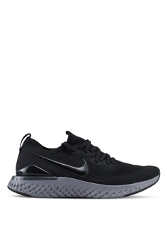 62e490936a6 Nike black Nike Epic React Flyknit 2 Shoes 88EA1SHBDE54FEGS 1