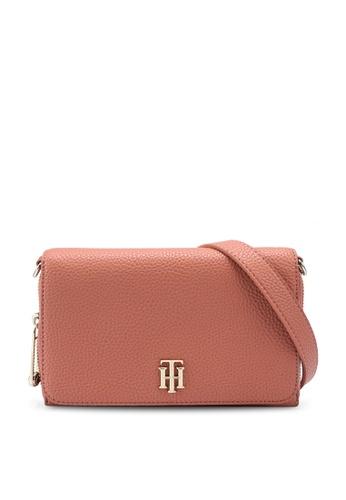 Tommy Hilfiger orange Th Soft Small Crossbody Bag ED571AC0256D0CGS_1