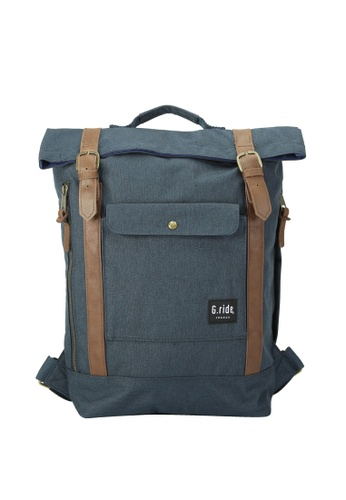 G.ride navy Balthazar Backpack GR478AC0GKSYSG_1
