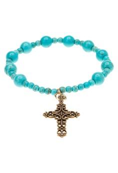 Birthstone Rosary Bracelet -Turquiose