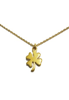Stainless Steel 4-Leaf Clover Necklace JHNG