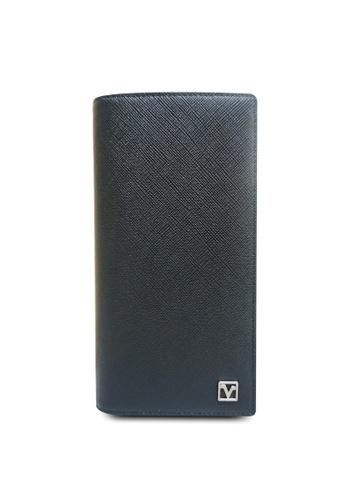 Valentino Rudy black Valentino Rudy Saffiano Leather Long Wallet C4FE1AC81DB1E5GS_1
