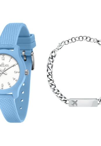 Morellato blue Morellato Soft Light Blue Silicon Strap Men's Watches with Bracelet R0151163010 6C387AC473C670GS_1