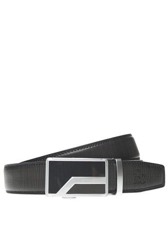Adobree black Adobree Spodosols Col.01 Belt 3.5 R - Silver Black 58BB6AC8307D5EGS_1