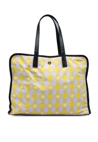 kate spade new york yellow and multi Morley XL Tote (cv) FF7FAACFD71367GS_1