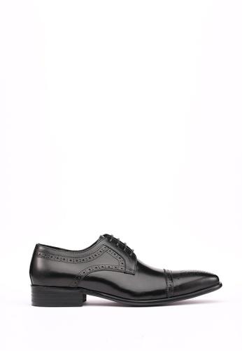 Kings Collection black Truman Oxford Shoes 1D97BSH86170C9GS_1