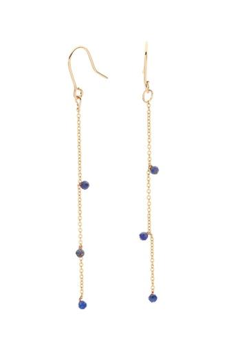 Dear Addison gold Something Blue Earrings 07895ACCAA26E8GS_1