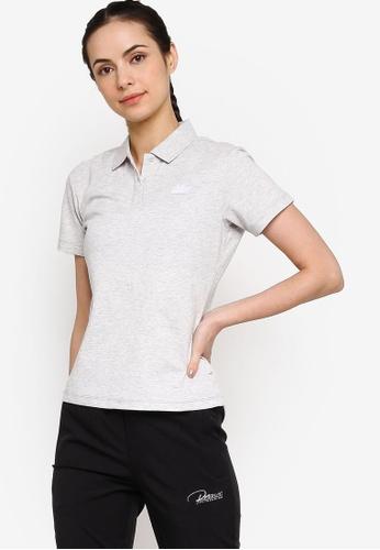 361° grey Cross Training Polo Shirt 8D9D9AA9A4D015GS_1