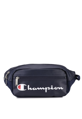 champion navy Japan Range Zip-Top Horizontal Waist Bag 5ECE9AC84AFA81GS_1