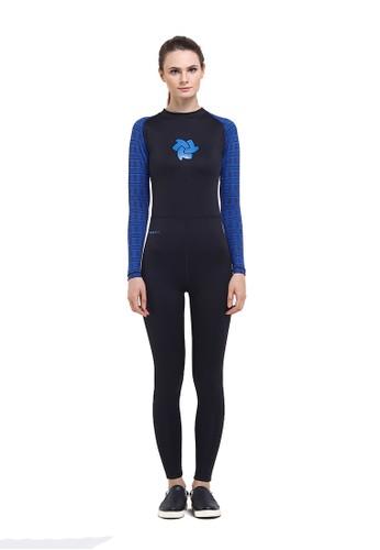 Tiento black Tiento Black Blue Tribal Ladies Wetsuit TI503US15BWIID_1