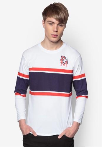 條紋esprit 門市棉質長袖衫, 服飾, 條紋T恤
