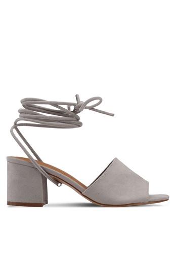 Rubi grey Tango Tie Up Mules 2CA4FSH02DA2FBGS_1
