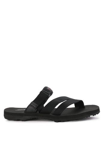 CARVIL black Sandal Sponge Man 20A4CSHCD06EF7GS_1