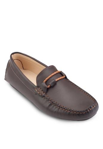 繩子細節莫卡辛鞋, 鞋salon esprit, 船型鞋
