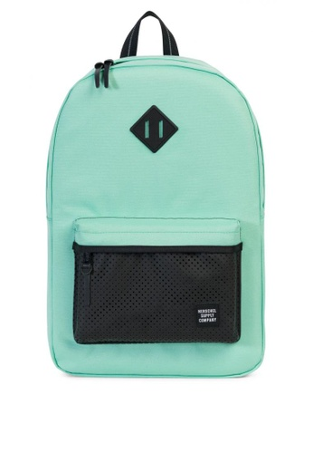 Herschel green Heritage Aspect Backpack HE958AC0KA4GPH_1
