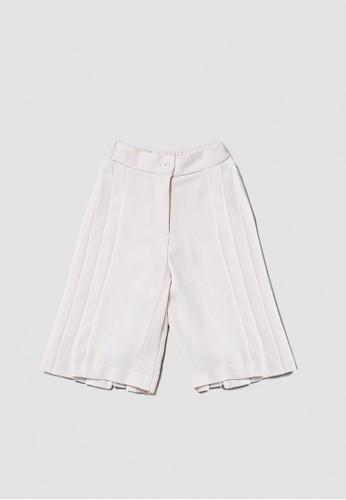Veyl white Sances Cullote Pants A2086KA0DEBFD8GS_1