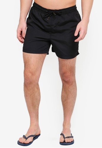 Jack & Jones black JJICALI Swim Shorts 64902AA9A43ACEGS_1