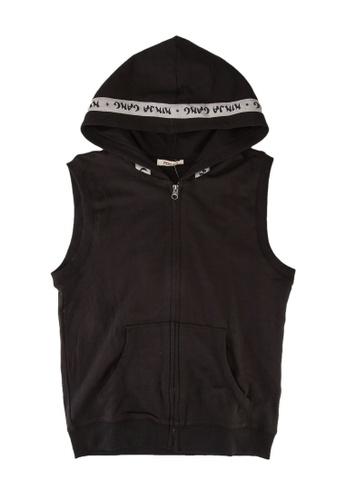 FOX Kids & Baby grey Hooded Jersey Vest 75021KA0A5B3BEGS_1